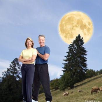 Abnehmen Abnehmen mit dem Mond leicht gemacht