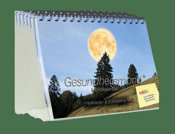 Gesundheitsmond Mondkalender 11er Aufstellkalender