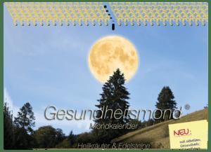 Gesundheitsmond Mondkalender 11er Wandkalender