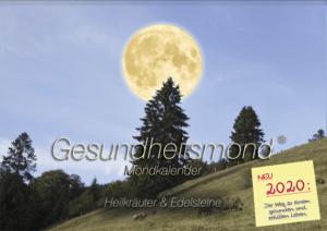 Gesundheitsmond Mondkalender Taschenkalender