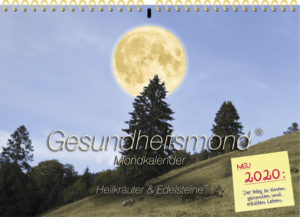 Gesundheitsmond Mondkalender Wandkalender