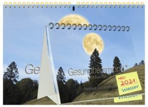 Gesundheitsamond Kalender 2021 Kombipaket 1x A4 + 1x A5