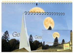 Gesundheitsmond Kalender 2021 Kombipaket Spezial je 1x A4, A5 und A6